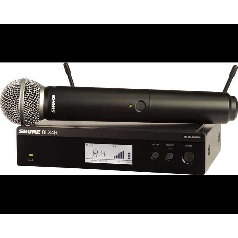 """Shure BLX SM58 19\"""" Vocalset"""