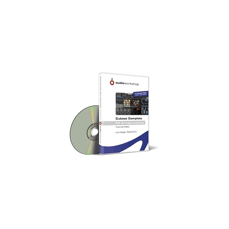 audio-workshop Cubase Complete FX & Instruments Download Tutorial