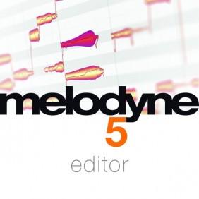 Celemony Melodyne 5 editor...