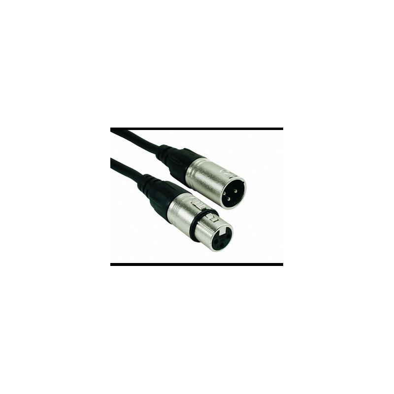 Rock Cable Mikrofonkabel XLRm-XLRf RCM*MXFX