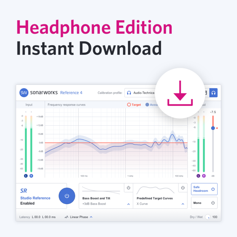 Sonarworks Reference 4 Headphone Edition ESD Download Version