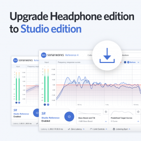 Sonarworks Reference 4 Studio Edition Upgrade von Headphone Edition ESD Download Version
