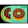 "Serato 2 X 12"" Emoji Series Donut/Heart"