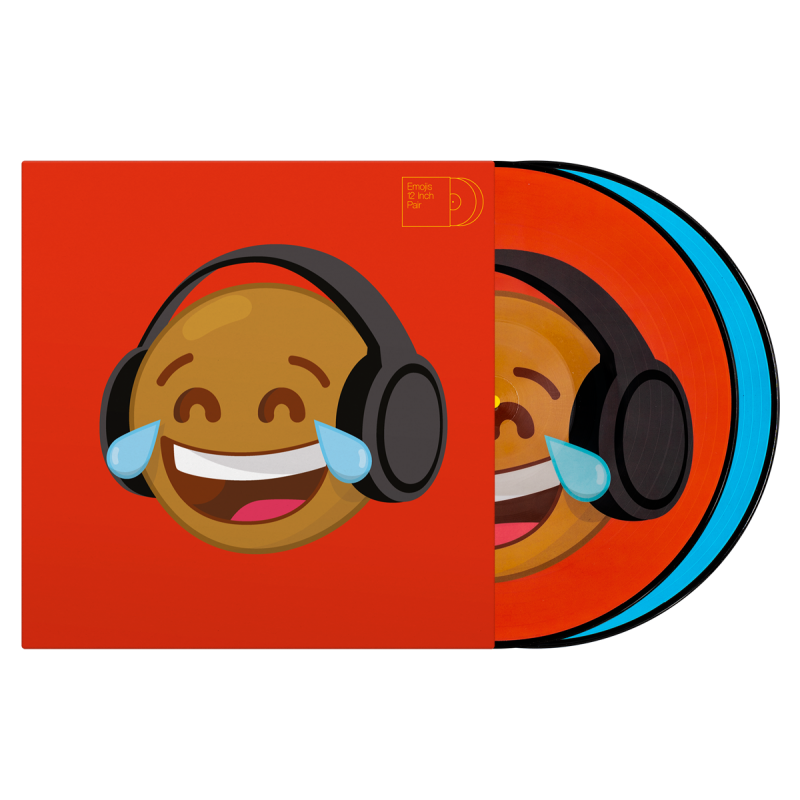 "Serato 2 X 12"" Emoji Series Thinking/Crying"