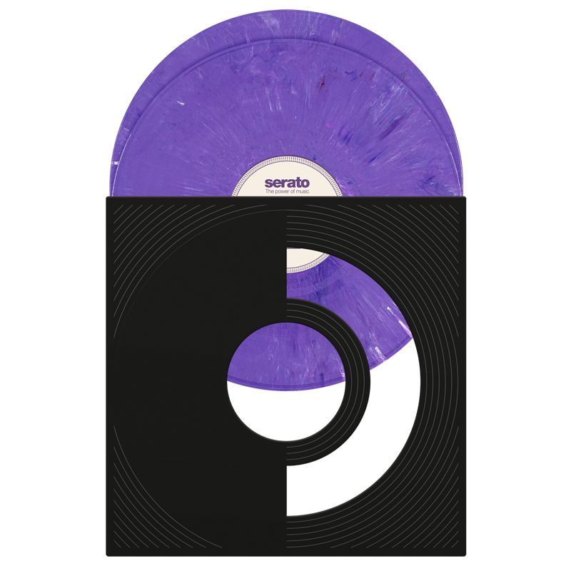 Serato Purple Rane X Serato Pressing (pair)