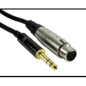 Rock Cable XLRf-Jack...