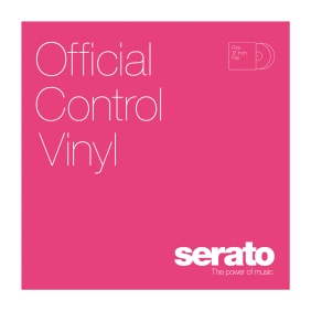 Serato Standard Colors Pink Paar