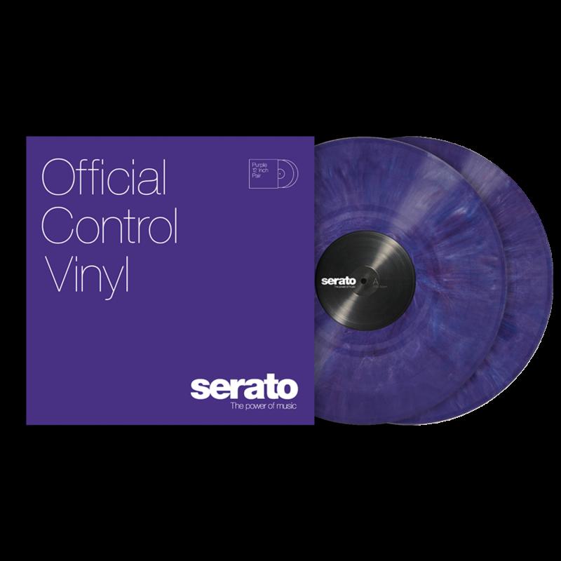 Serato Standard Colors Purple Paar