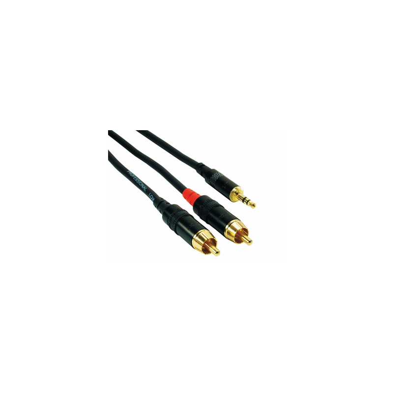 Rock Cable Cinch-1x MiniJack Stereo RCIN*MPC