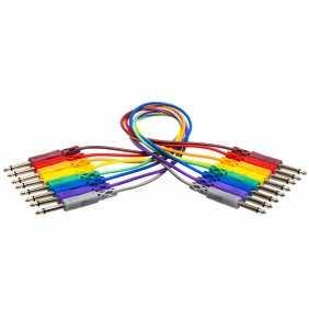 Hosa CPP-800 Patchkabel Monojack 6.3mm farbig